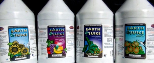 Earth Juice Organic Fertilizers: Organic Marijuana Made Easy